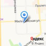 Аварийная служба г. Кирова на карте Кирова
