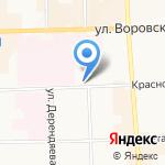 Управление Федеральной службы по надзору в сфере защиты прав потребителей и благополучия человека по Кировской области на карте Кирова