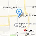 Профи-штамп на карте Кирова
