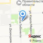Кировская клиническая стоматологическая поликлиника на карте Кирова