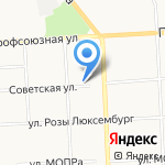 Гастроном №76 на карте Кирова