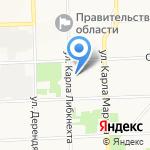 Прокуратура Ленинского района на карте Кирова