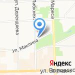 Империя кадров на карте Кирова