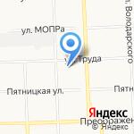 Вираж на карте Кирова