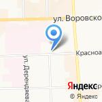 Детский клинический консультативно-диагностический центр на карте Кирова