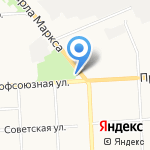Парковка на карте Кирова