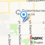 Арабелла на карте Кирова
