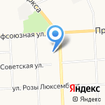Территория Цветов на карте Кирова