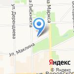 Лига денег на карте Кирова