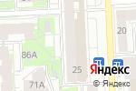 Схема проезда до компании Швейное дело в Кирове