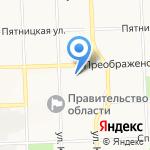Селена на карте Кирова