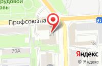 Схема проезда до компании График Студио в Кирове
