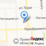 Управление государственной экспертизы Кировской области и ценообразования в строительстве на карте Кирова