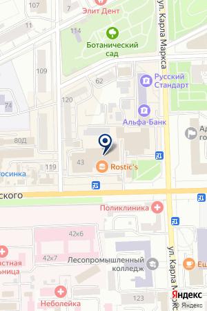 ПК ЭЛЛС на карте Кирова