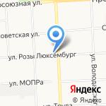 Альда на карте Кирова