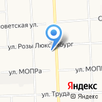 Секонд-хенд европейской одежды и обуви на карте Кирова