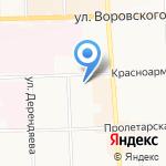 Участковый пункт полиции №34 по Ленинскому району на карте Кирова