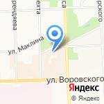 Студия интим-фитнеса на карте Кирова