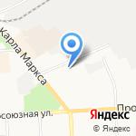 Кировский областной таможенный пост Нижегородской таможни на карте Кирова