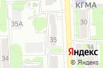 Схема проезда до компании Сладкоежка в Кирове