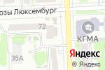 Схема проезда до компании Трикоf в Кирове