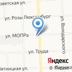 Безопасность труда и жизни на карте Кирова