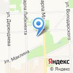 Академия-денталь на карте Кирова