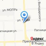 Балерс на карте Кирова
