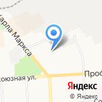 Вятская зима на карте Кирова