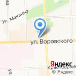 Бизнес-букет на карте Кирова