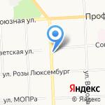 Кар-кар-куша на карте Кирова