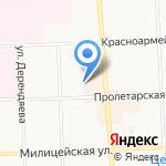 Кировский центр лесного хозяйства на карте Кирова