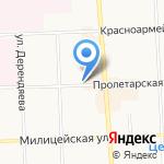 Славянка на карте Кирова