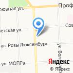 Экона на карте Кирова