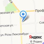 Территориальное управление Федерального агентства по управлению государственным имуществом в Кировской области на карте Кирова