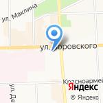 Кировский областной госпиталь для ветеранов войн на карте Кирова