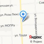 Ал.Пласт на карте Кирова