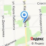 Утро на карте Кирова