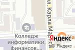 Схема проезда до компании Ешка в Кирове