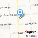 Под часами на карте Кирова
