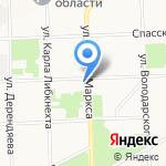 Инновационный научно-образовательный центр на карте Кирова