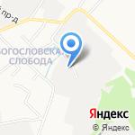 СТЕЛ пласт на карте Кирова