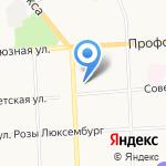 Красавица Стрекозка на карте Кирова