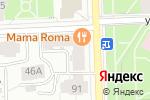 Схема проезда до компании Корпорация Ф в Кирове