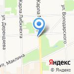 Диадема на карте Кирова