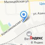 Первый Дортрансбанк на карте Кирова