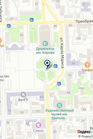 BRASLET-43 ТОВАРЫ ДЛЯ ЖИВОТНЫХ на карте Кирова