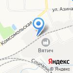 Бэмби на карте Кирова