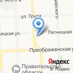 Цацки на карте Кирова