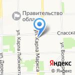 Магазин овощей на карте Кирова